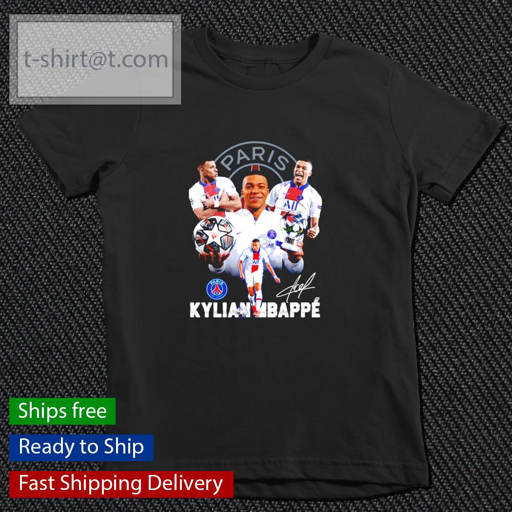 Paris Kylian Mbappe s youth-tee