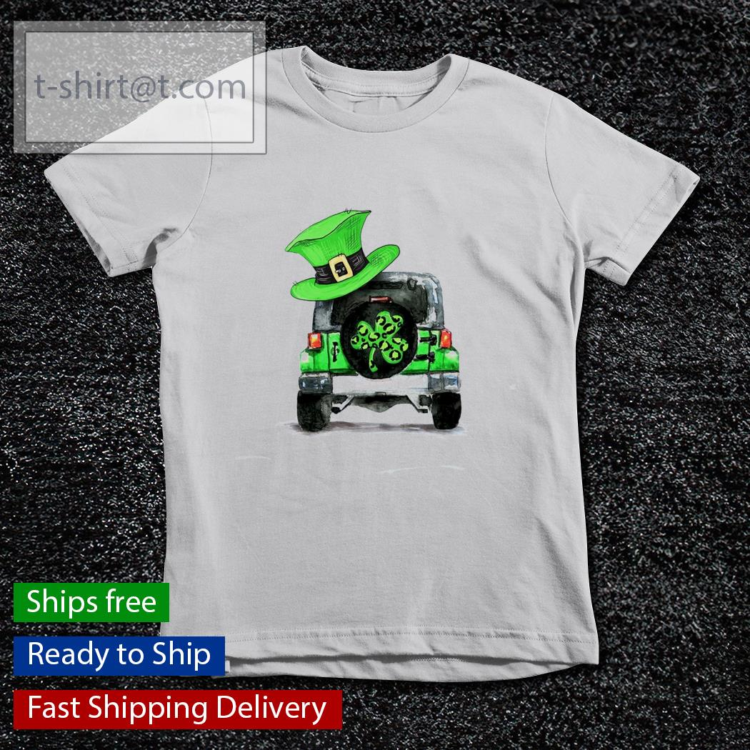 St Patrick's day Shamrock Jeep s youth-tee