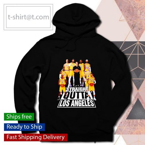Straight Outta Los Angeles Lakers s hoodie