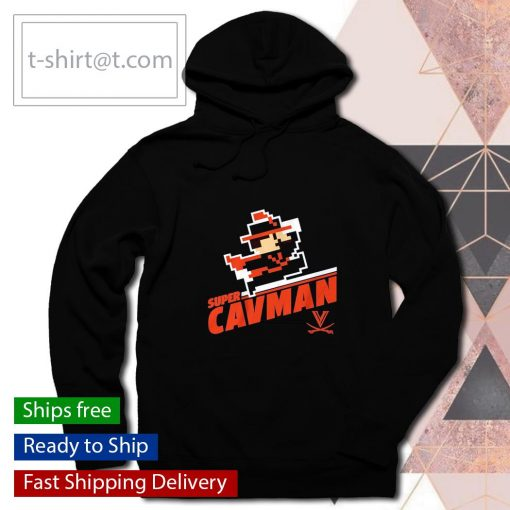 Super CavMan s hoodie