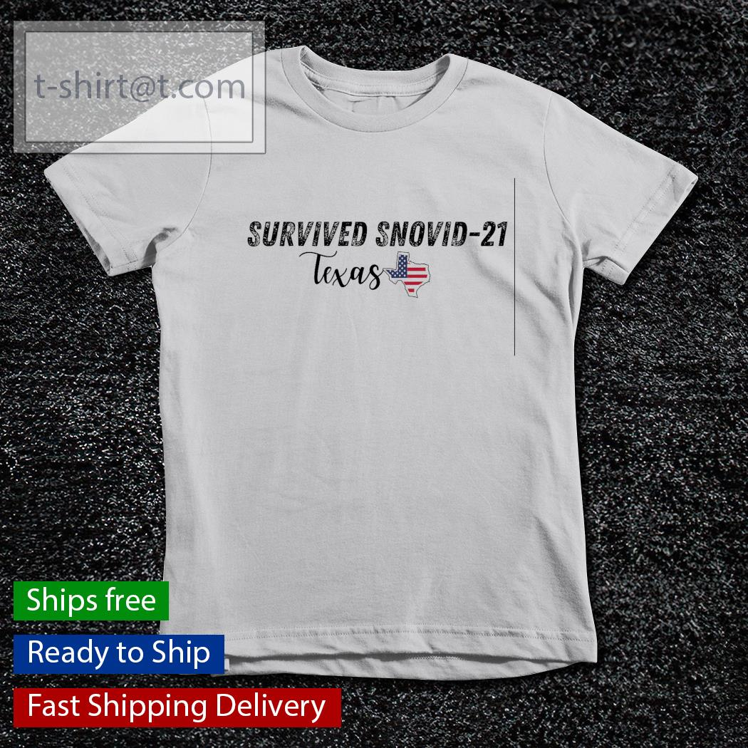 Survived snovid 21 Texas strong American s youth-tee