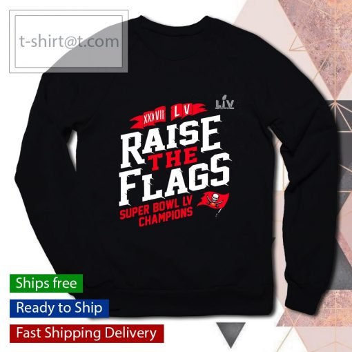 Tampa Bay Buccaneers 2-Time Super Bowl Champions Raise the Flags s sweater