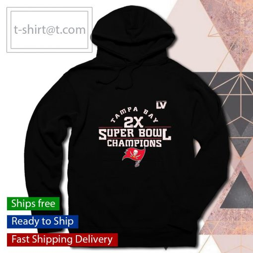 Tampa Bay Buccaneers 2-Time Super Bowl Champions Scrimmage s hoodie
