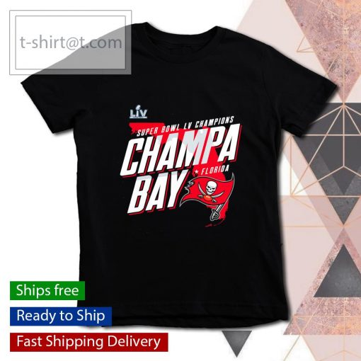 Tampa Bay Buccaneers Super Bowl LV Champions Champa Bay s youth-tee