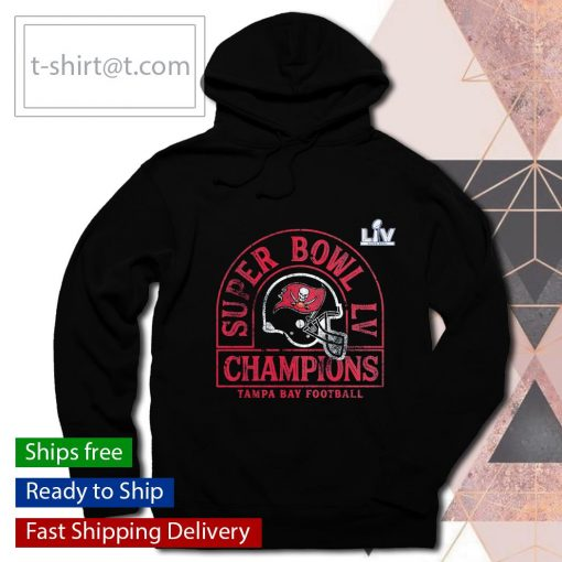 Tampa Bay Buccaneers Super Bowl LV Champions Coin Toss s hoodie