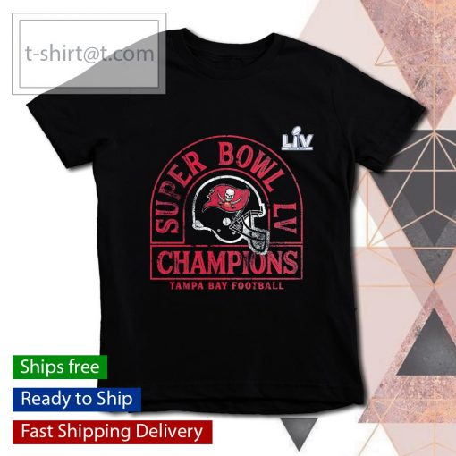 Tampa Bay Buccaneers Super Bowl LV Champions Coin Toss s youth-tee