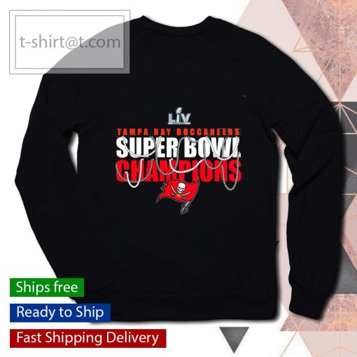 Tampa Bay Buccaneers Super Bowl LV Champions Hometown Beads s sweater