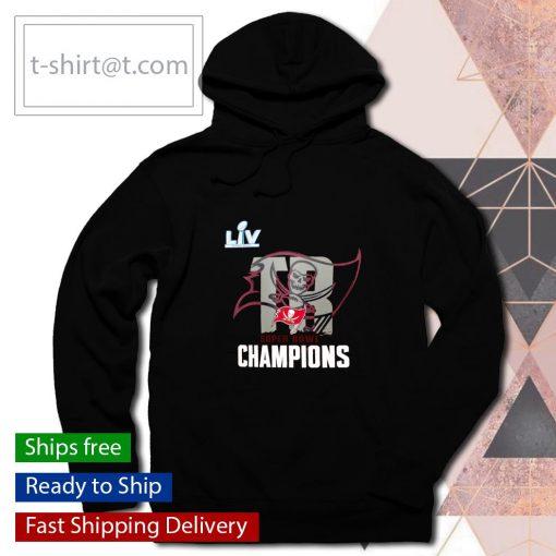 Tampa Bay Buccaneers Super Bowl LV Champions Local s hoodie
