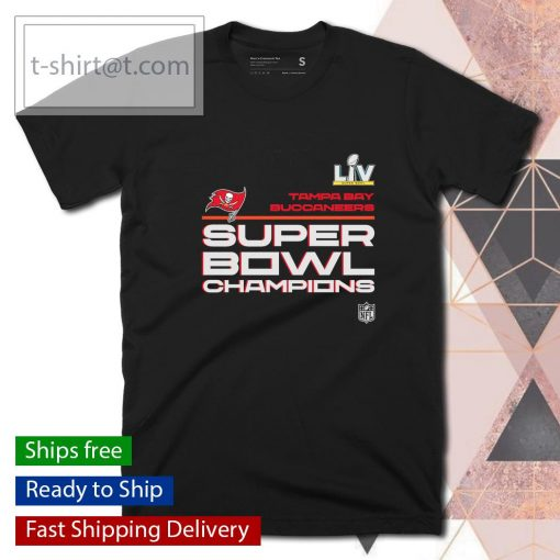 Tampa Bay Buccaneers Super Bowl LV Champions Locker Room Trophy Collection shirt