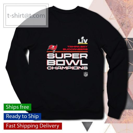 Tampa Bay Buccaneers Super Bowl LV Champions Locker Room Trophy Collection s sweater