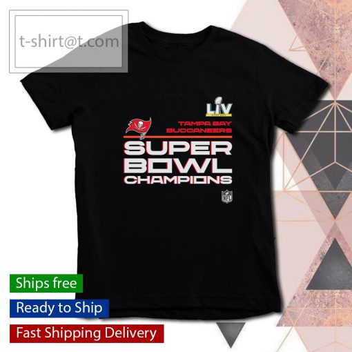 Tampa Bay Buccaneers Super Bowl LV Champions Locker Room Trophy Collection s youth-tee