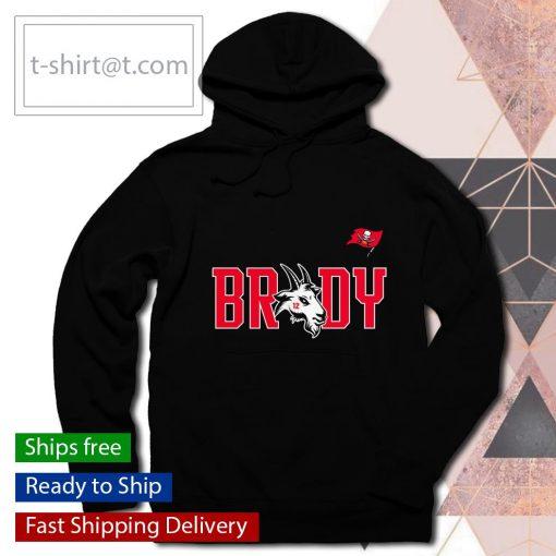 Tampa Bay Buccaneers Tom Brady GOAT s hoodie