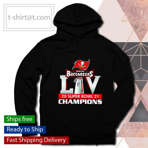 Tampa Bay Bucs 2021 Super Bowl LIV Champions s hoodie