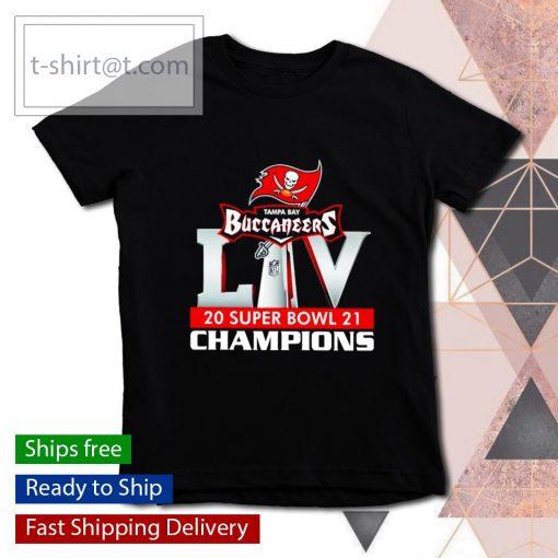 Tampa Bay Bucs 2021 Super Bowl LIV Champions s youth-tee