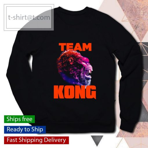 Team Kong Neon Godzilla vs Kong s sweater