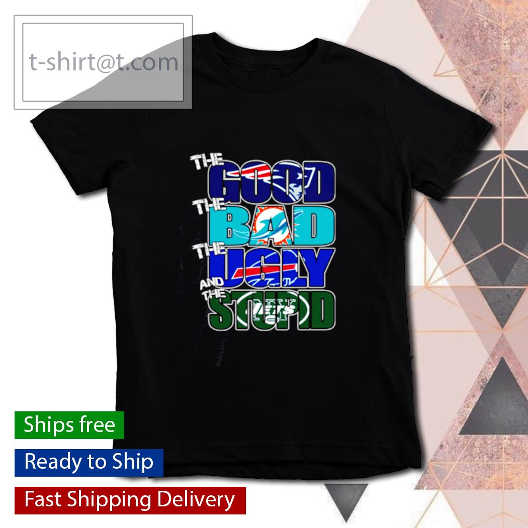 The good New England Patriots the bad Dolphins the ugly Bills the stupid Jets s youth-tee