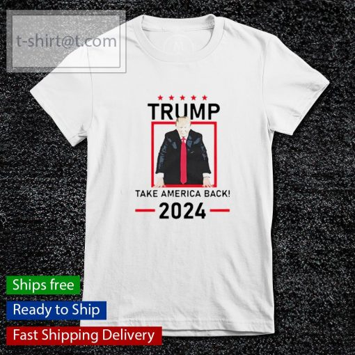 Trump take America back 2024 s ladies-tee