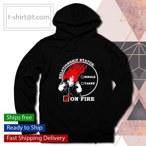 Villains Valentines Hades Single Taken On Fire s hoodie